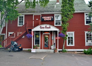 Greunke's Restaurant & First Street Inn Bayfield, Wisconsin